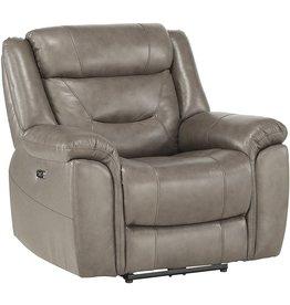 "Homelegance Homelegance 41"" Power Reclining Chair, Brown"
