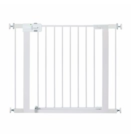 Safety 1st Safety 1st Easy Install Metal Baby Gate with Pressure Mount Fastening (White), Pack of 1