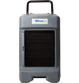 BlueDri BlueDri BD-130P 225PPD Industrial Water Damage Equipment Commercial Dehumidifier with Hose for Basements in Homes and Job Sites, Gray