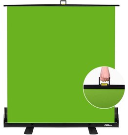 EMART EMART Green Screen, Collapsible Chroma Key Panel for Background Removal, Portable Retractable Wrinkle Resistant Chromakey Green Backdrop with Auto-Locking Frame, Aluminum Hard Case, Ultra Quick Setup