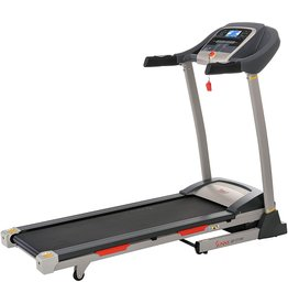 Sunny Health & Fitness Sunny Health & Fitness Portable Treadmill with Auto Incline, LCD, Smart APP and Shock Absorber - SF-T7705