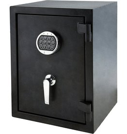 Amazon Basics Basics Fire Resistant Security Safe with Programmable Electronic Keypad - 1.24 Cubic Feet, 14.17 x 13.8 x 19.67 inches