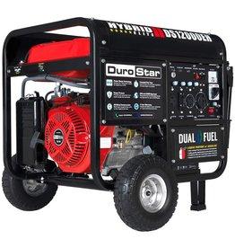 DuroStar Durostar DS12000EH Portable Generator, Red/Black