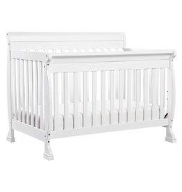 DaVinci DaVinci Kalani 4-in-1 Convertible Crib in White, Greenguard Gold Certified