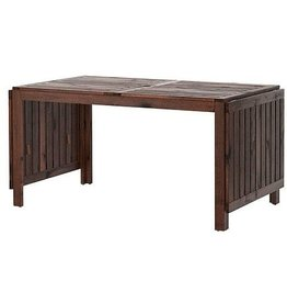 IKEA IKEA APPLARO,Drop-leaf table, brown