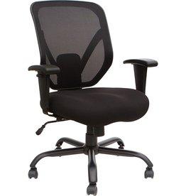 Lorell Lorell Soho Big & Tall Mesh Back Chair, Black