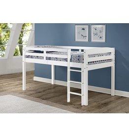 Concord Concord Junior Loft Bed, Twin, White