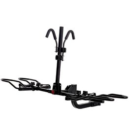 KAC KAC Overdrive Sports K2 2 Hitch Mounted Rack 2-Bike Platform Style Carrier for Standard, Fat Tire, and Electric Bicycles