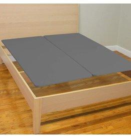 Treaton Treaton Split Fully Assembled Bunkie Board for Mattress/Bed Support, King Grey, Beige