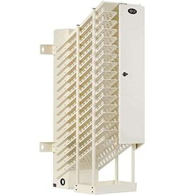 Tripp Lite Tripp Lite AC Charging Tower, 16 Device AC Charging Station with Lock, Space Saving Design, Open Frame, White (CST16AC)