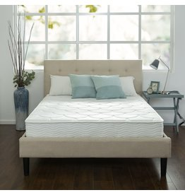 Zinus ZINUS 8 Inch Quilted Pocket Spring Mattress / Bed-in-a-Box, Twin XL