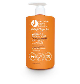 Australian Native Botanicals Conditioner - Volume & Body Boost Fine & Limp Hair 500ml