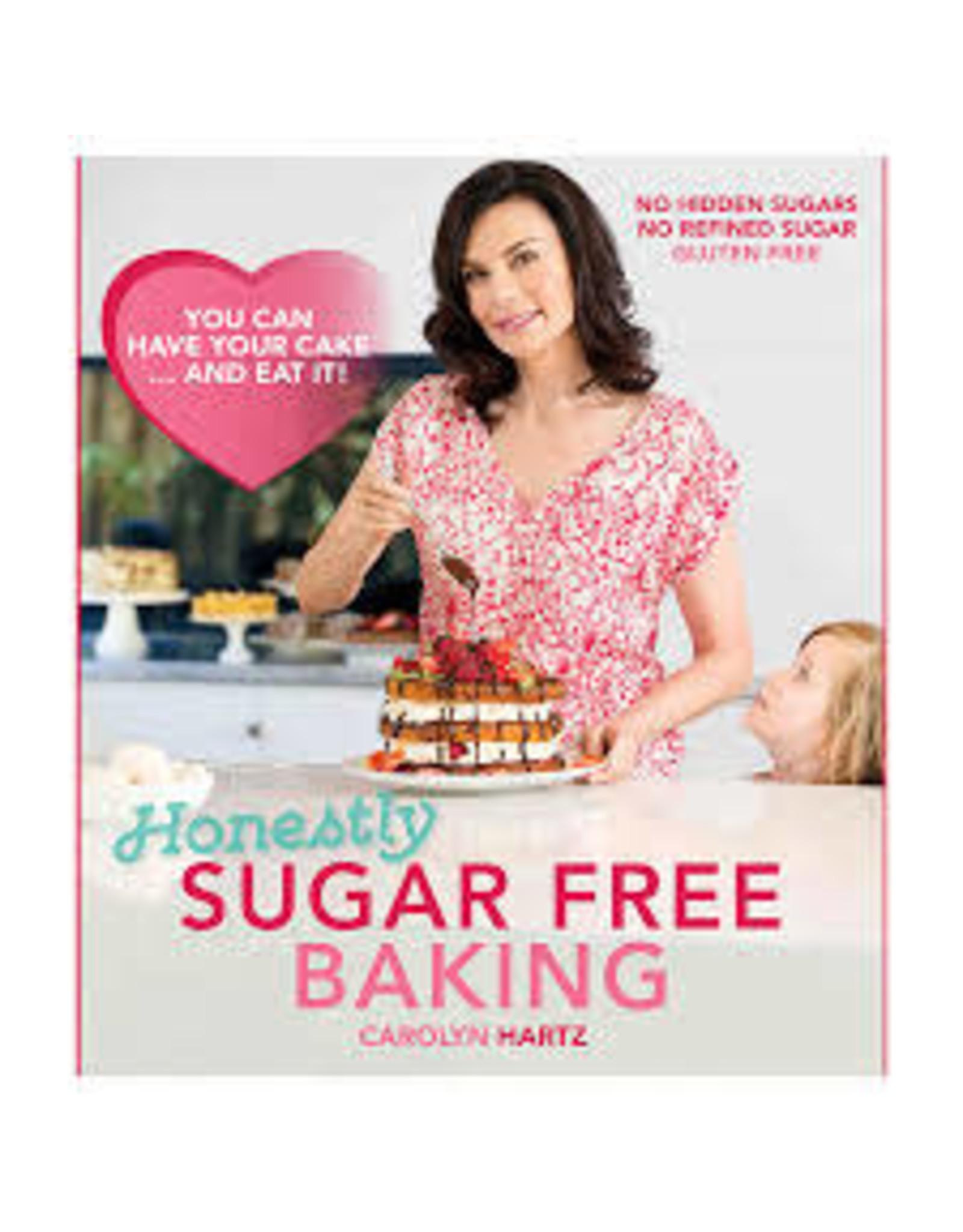 Sugar Free Baking Book by Carolyn Hartz