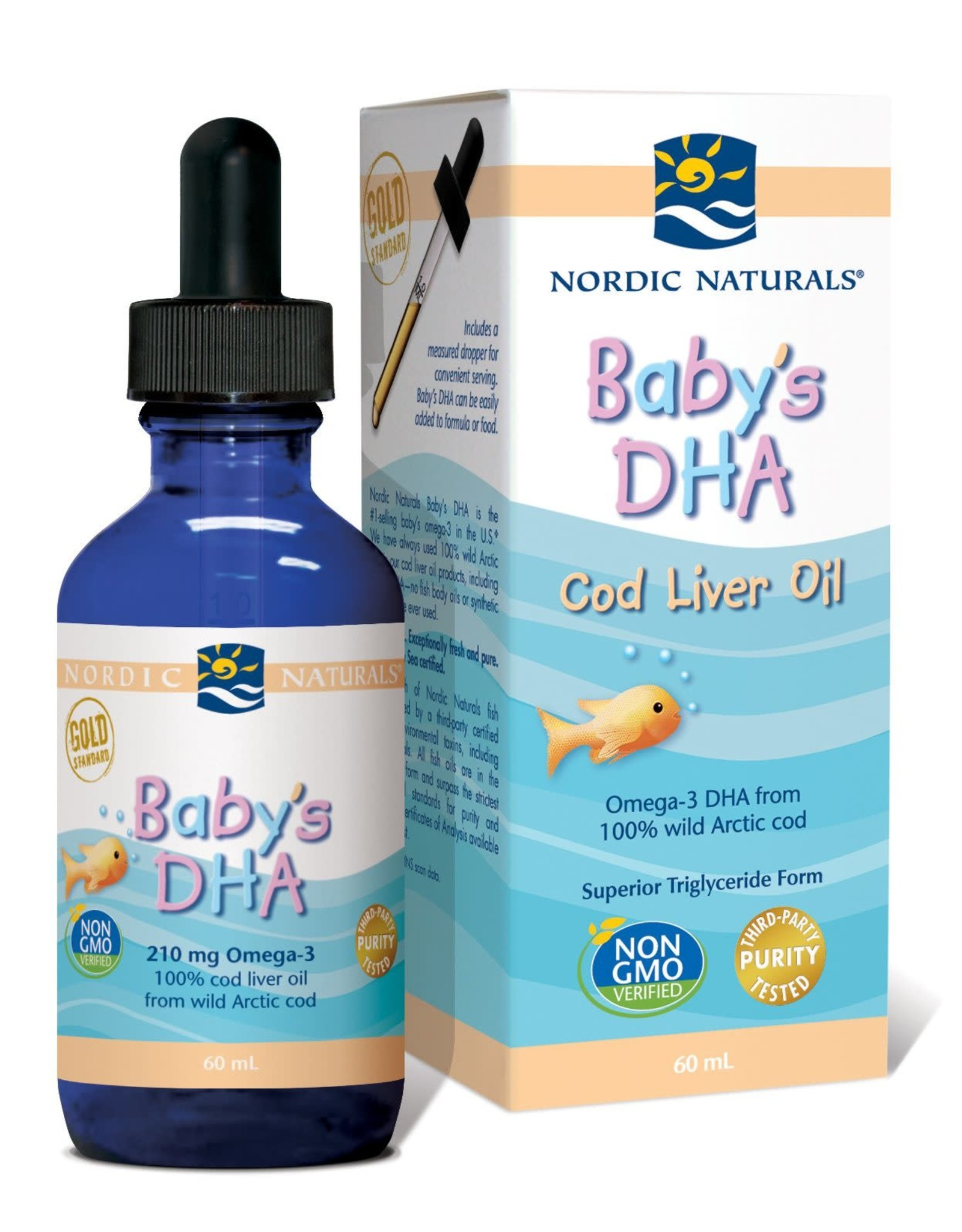 Nordic Naturals Baby's DHA 60ml