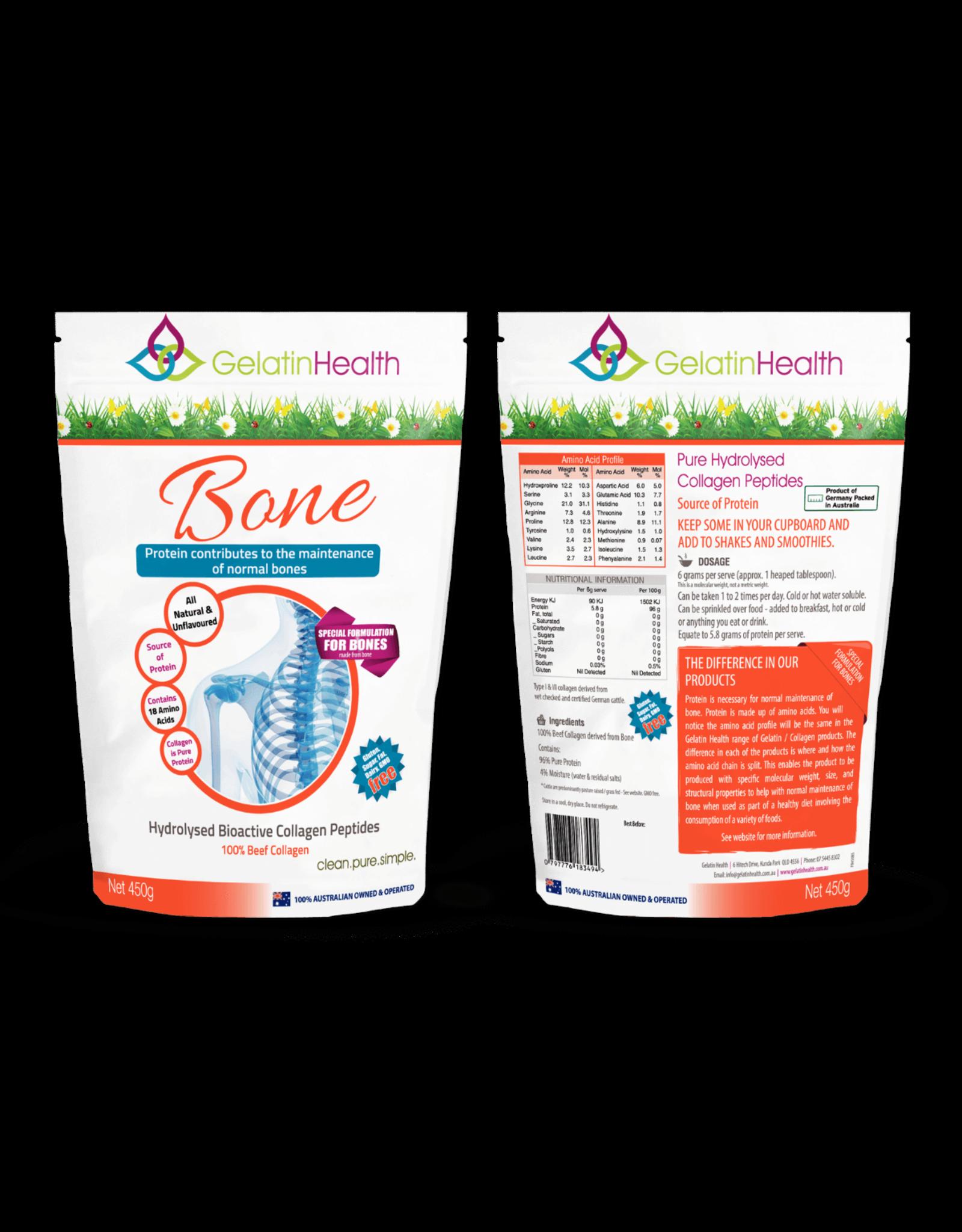 Gelatin Health Bone Collagen