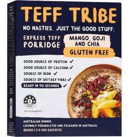 Teff Tribe Teff Porridge - Mango, Goji & Chia 5 x 40g