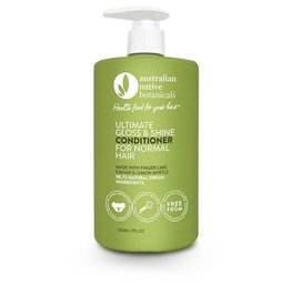Australian Native Botanicals Conditioner - Ultimate Gloss & Shine Normal Hair - 500ml