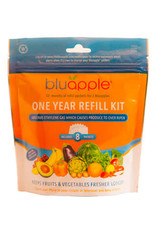 Bluapple One Year Refill Kit- 8 Satchel Refills