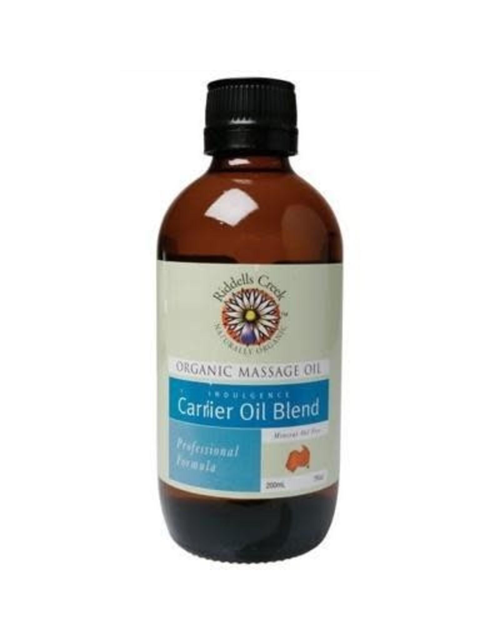 Riddells Creek Massage Oil Carrier Oil Blend 200ML