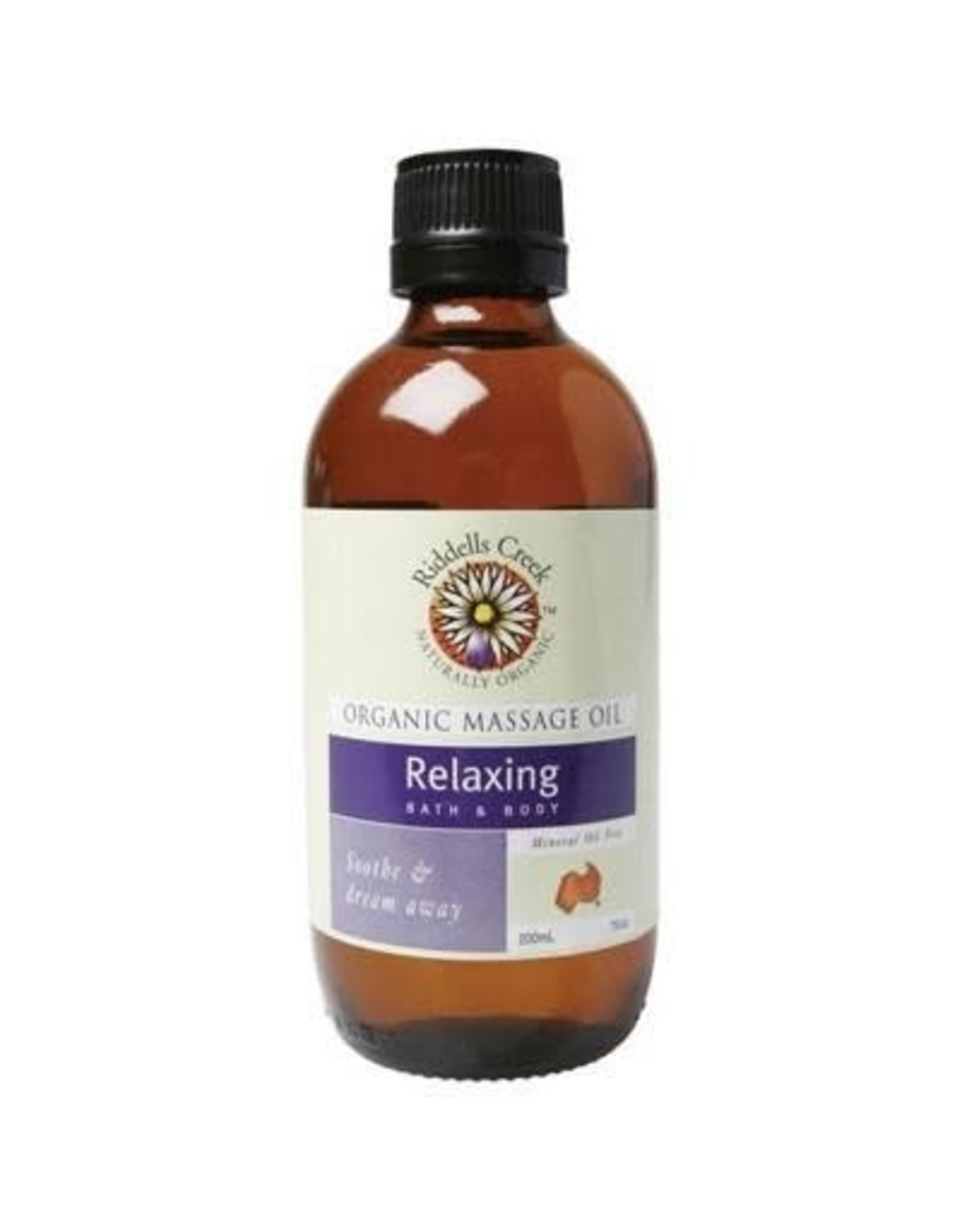 Riddells Creek Massage Oil Relaxing 200ML