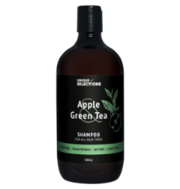Unique Selections Apple & Green Tea Body Shampoo 500ml