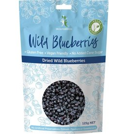 Dr Superfoods Dried Wild Blueberries 125g