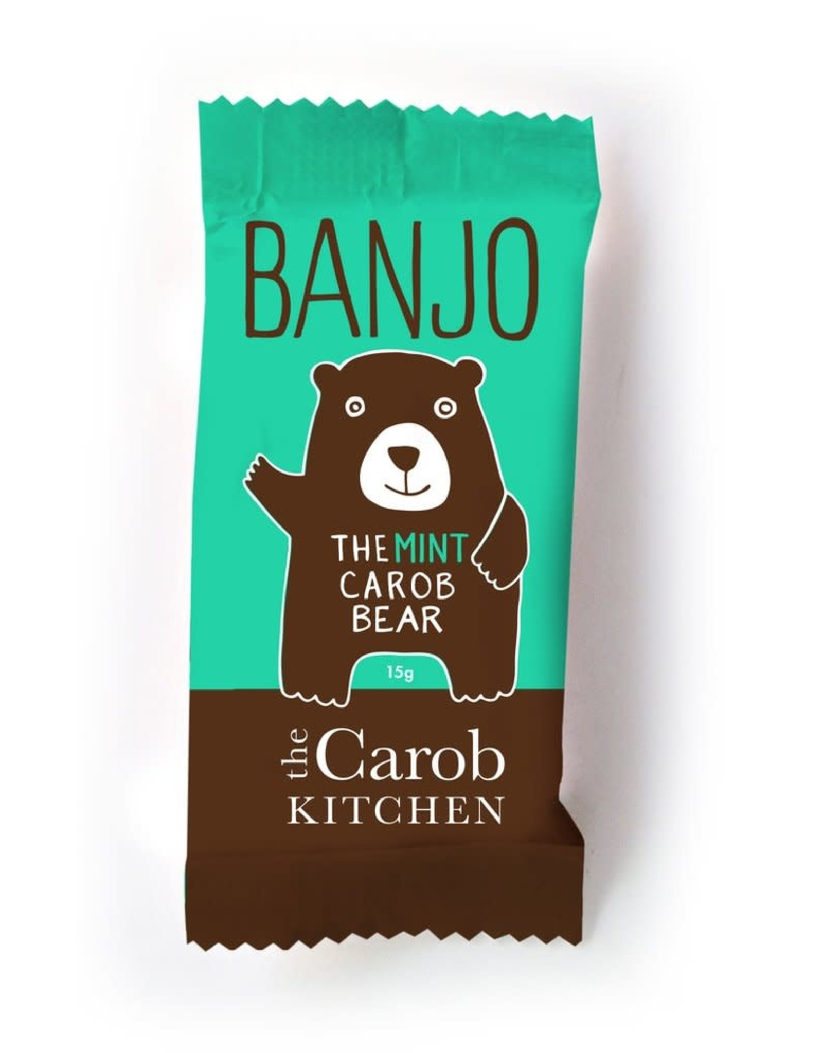The Carob Kitchen Banjo Bear Mint 15g