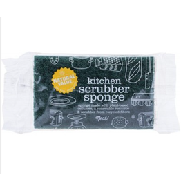 Natural Value Kitchen Scrubber Sponge 1 Pack