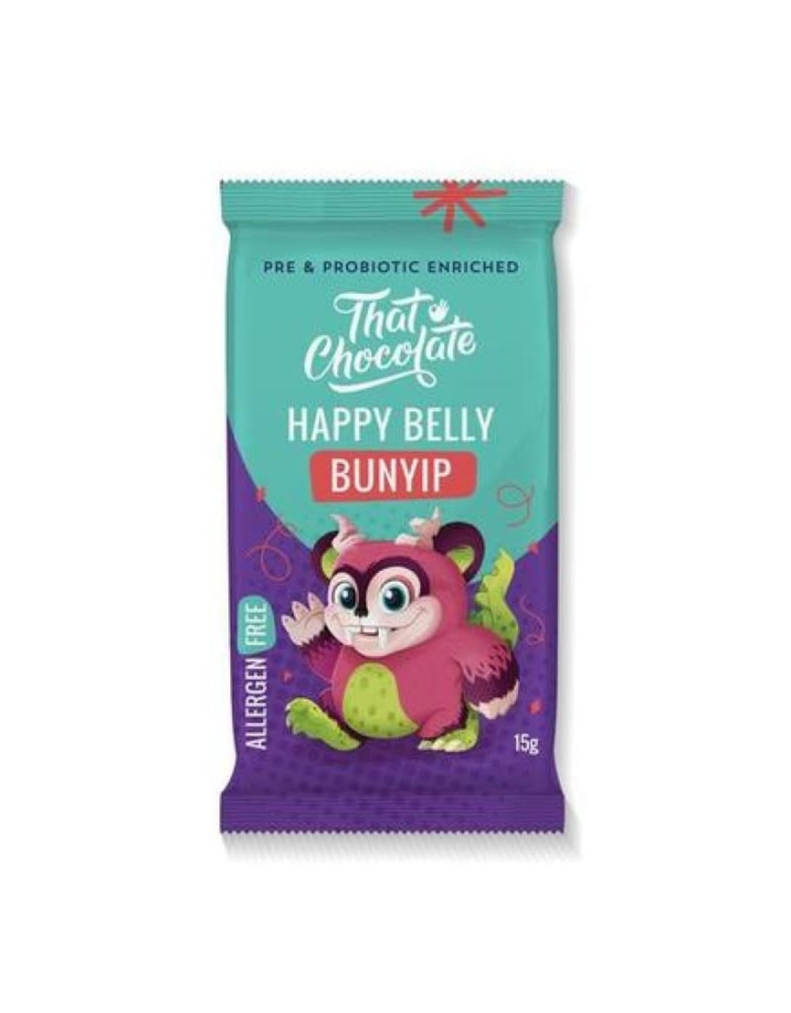 That Chocolate Co Happy Belly Bunyip Chocolate 15g