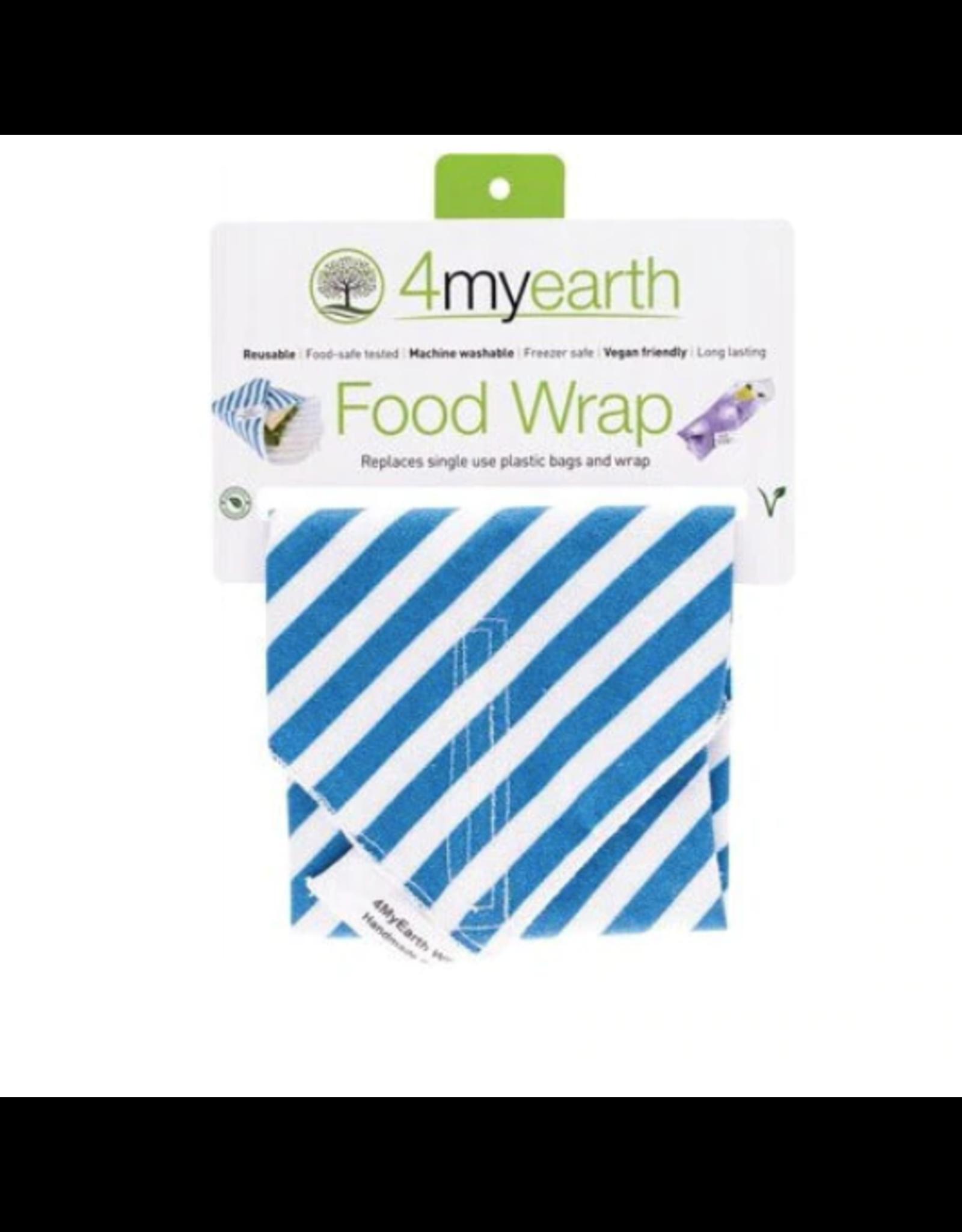 4MyEarth Food Wrap Denim Stripes