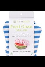 4MyEarth Food Cover Denim Stripes XL