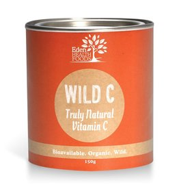 Eden Health Products Wild C  Natural Vitamin C Powder 150g