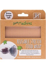 Little Mashies Reusable Stretch Silicone Food Wrap - XLarge 30cm