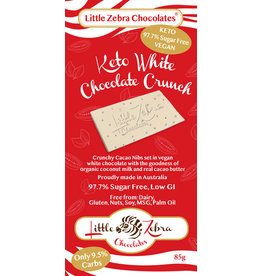Little Zebra Keto White Chocolate 85g