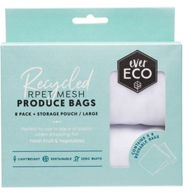 Ever Eco Reusable Produce Bags  8pk plus Storage Pouch