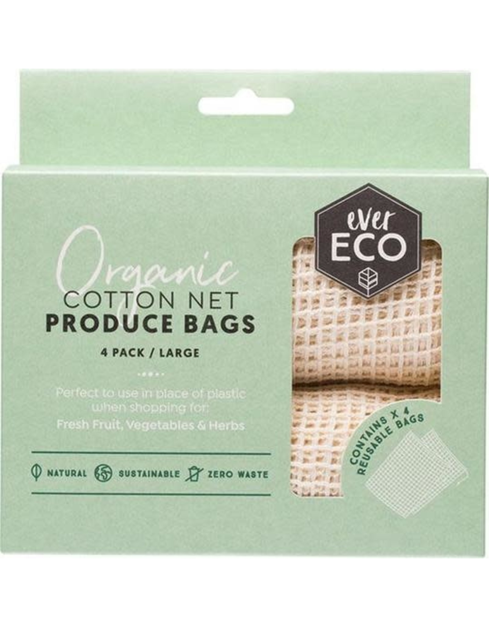 Ever Eco Reusable Produce Bags  Organic Cotton Net 4