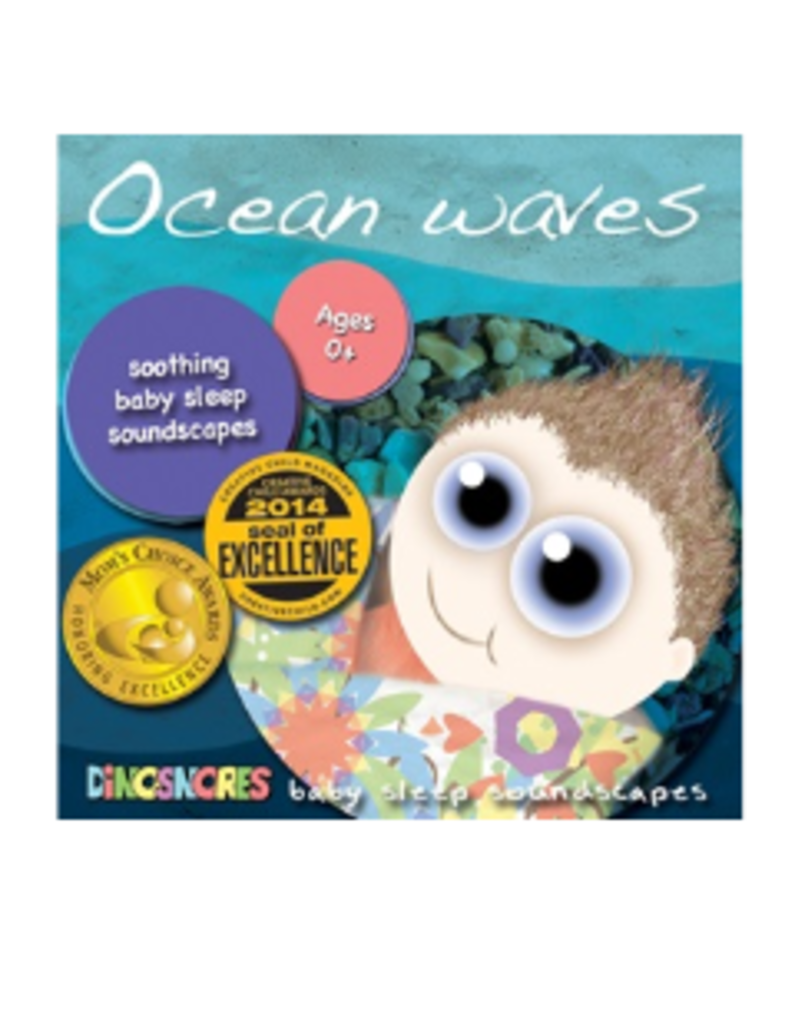 Dinosnores Ocean Waves CD