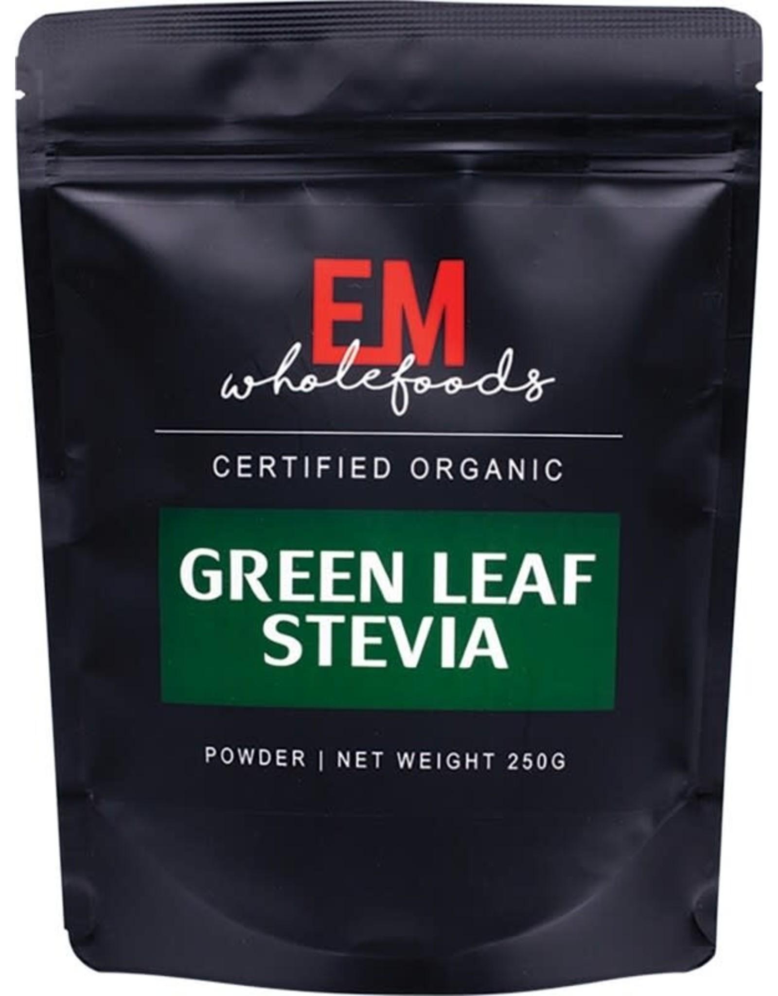 EM Superfoods Green Stevia Leaf Powder 100% Pure 250g