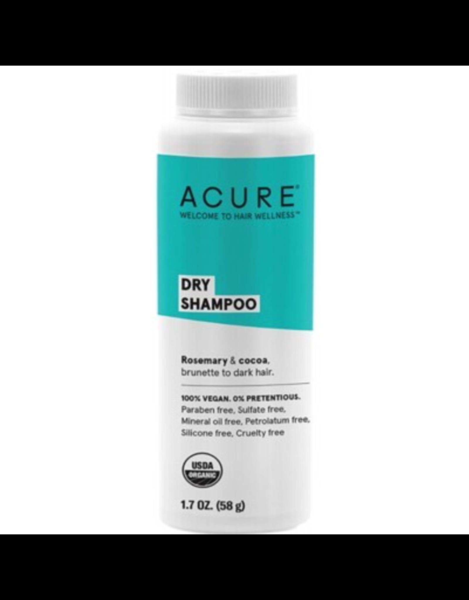 Acure Dry Shampoo- For Brunette to Dark Hair 48G