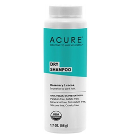 Acure Dry Shampoo- For Brunette to Dark Hair 48G
