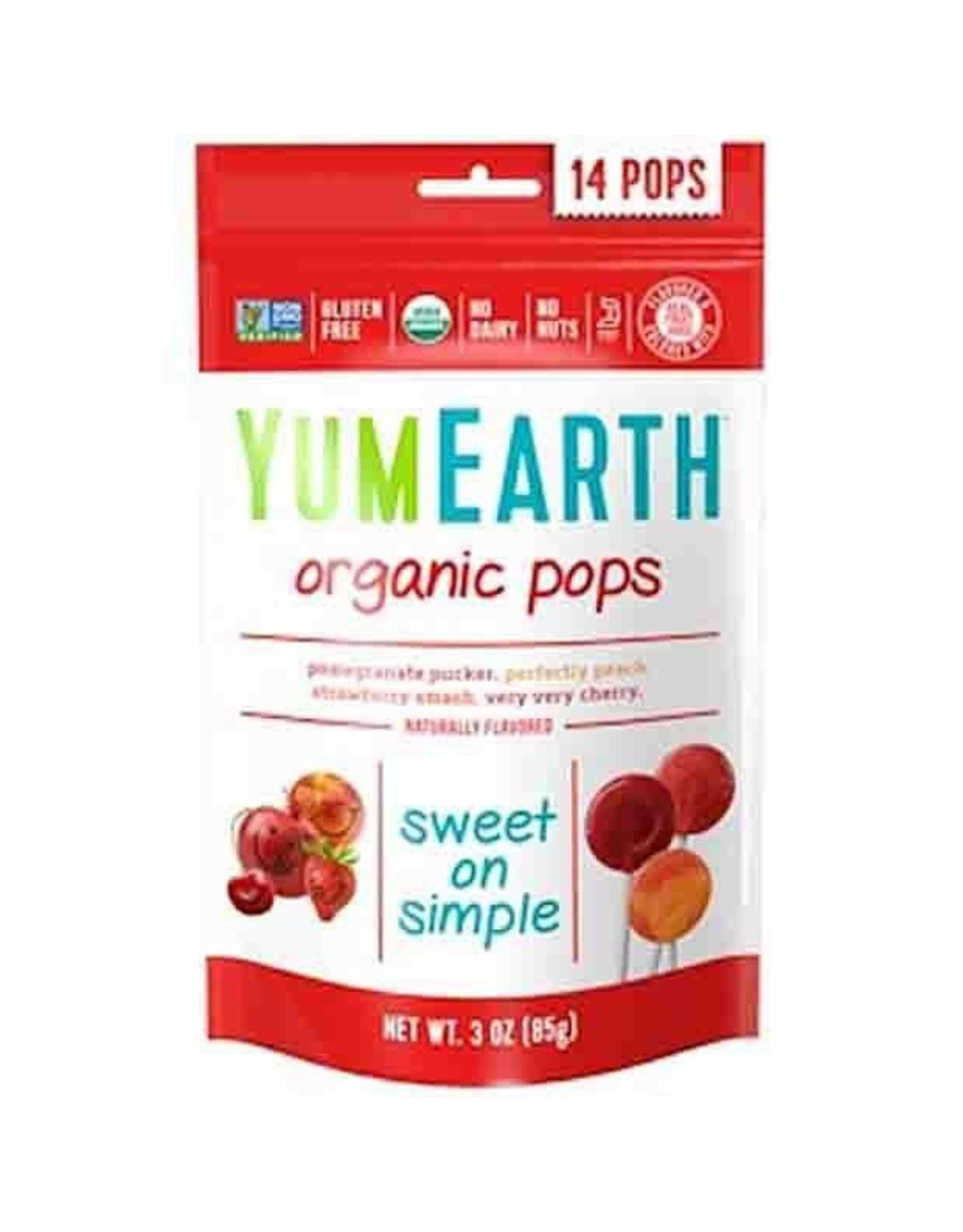 Yum Earth Organic Pops 87g
