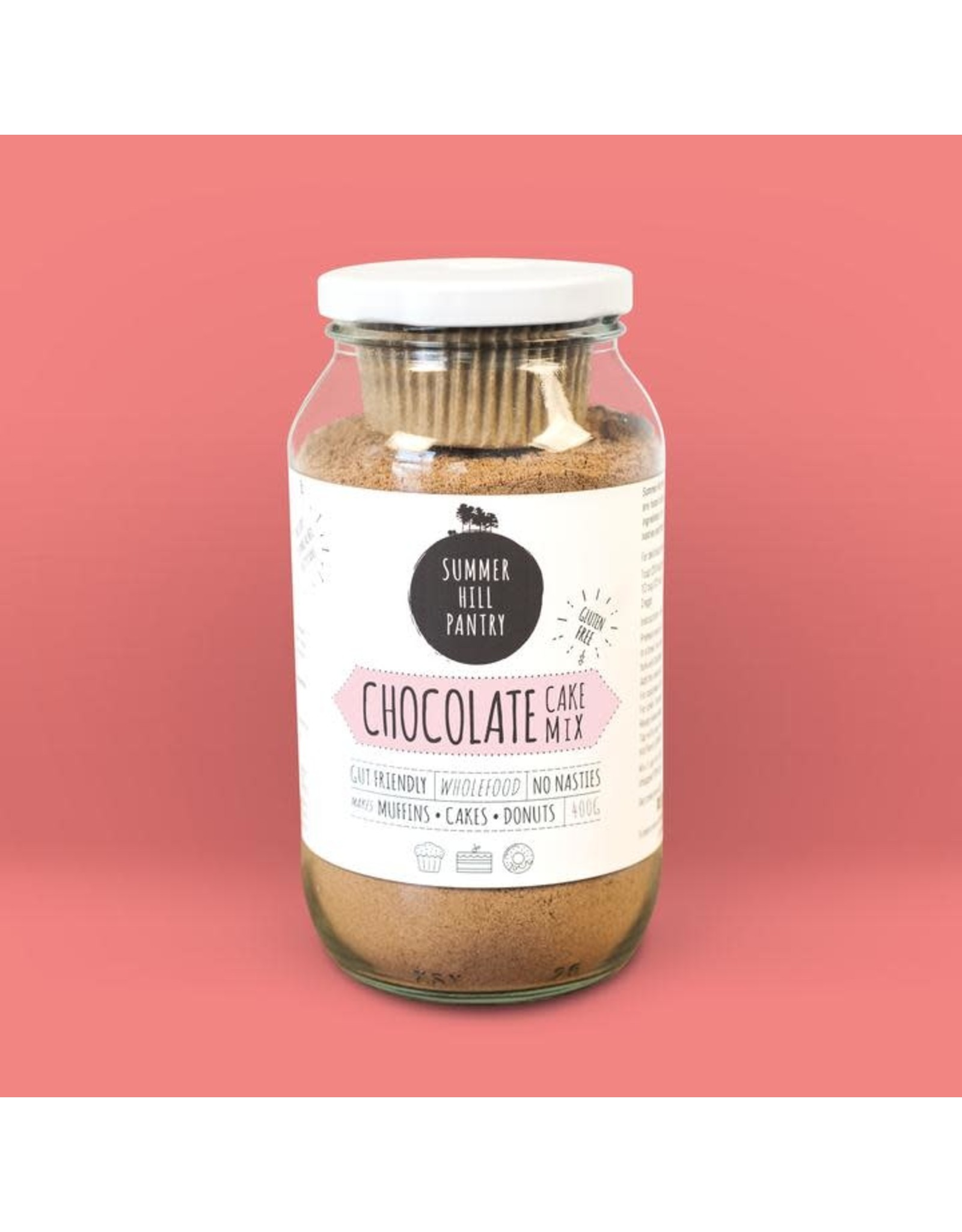 Summerhill Pantry Chocolate Cake Mix 400g Jar