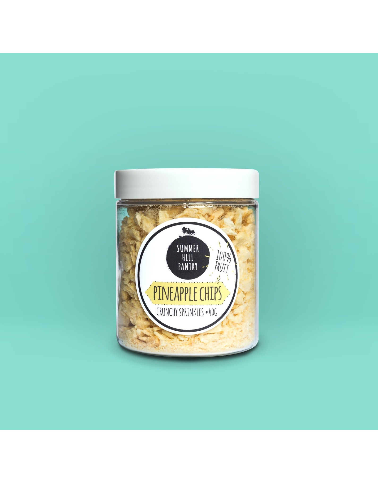Summerhill Pantry Freeze Dried Pineapple Sprinkles 25g