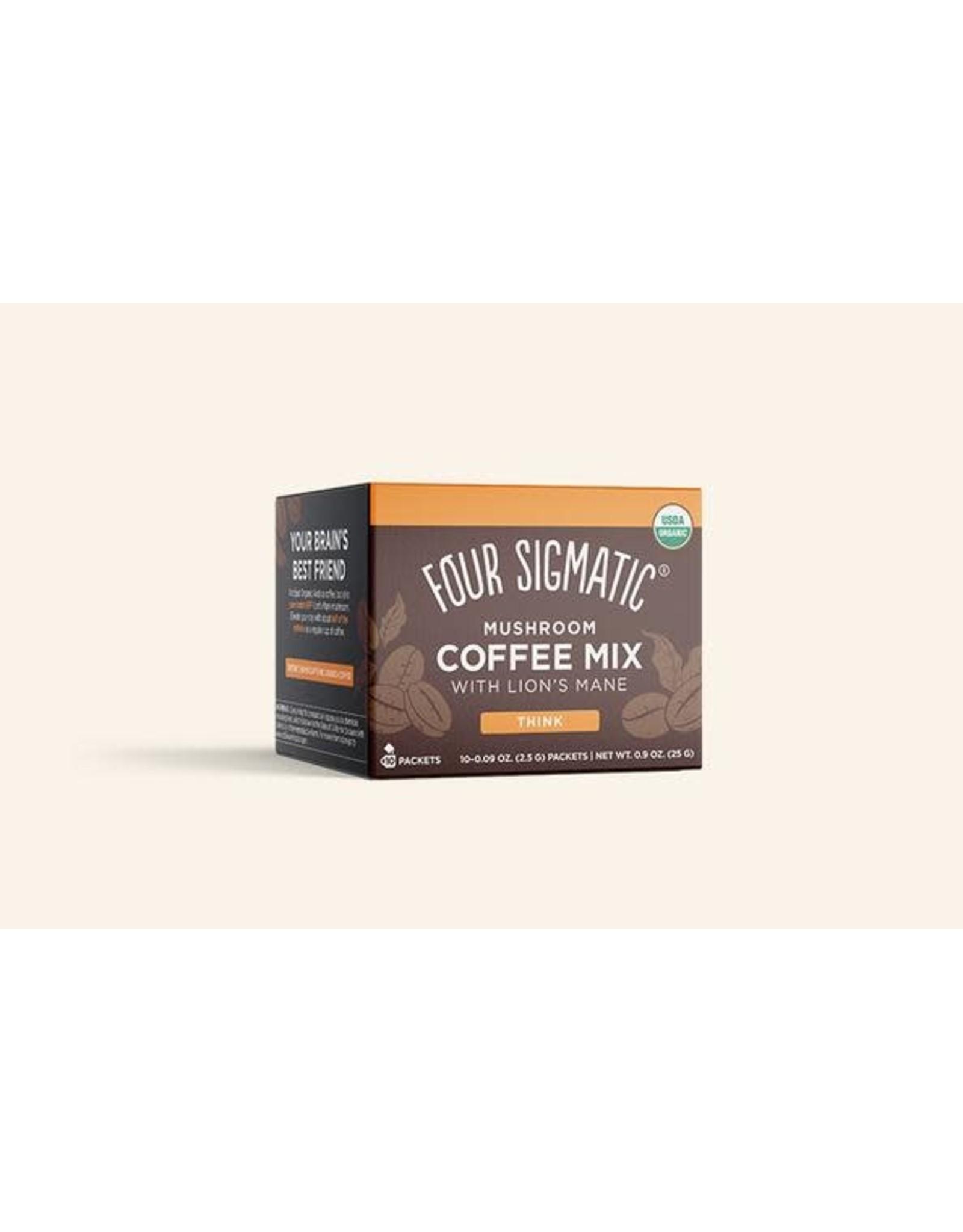 Four Sigmatic Mushroom Coffee Mix Lion's Mane & Chaga 10x2.5g
