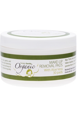 Simply Gentle Organic Facial Cleansing Pads  With Organic Aloe Vera  x 30