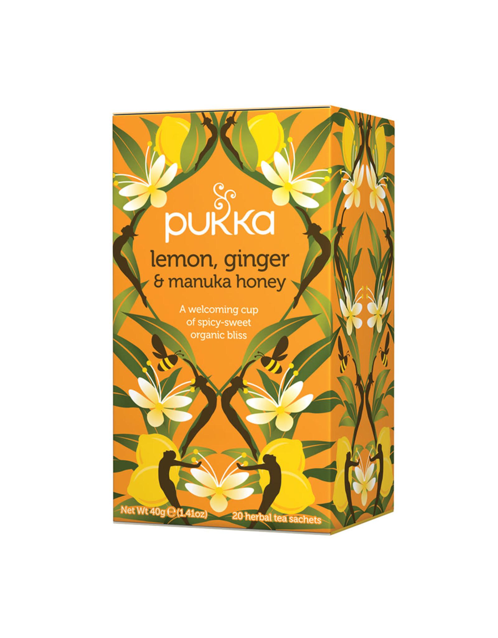 Pukka Lemon, Ginger & Manuka Honey x 20 Tea Bags