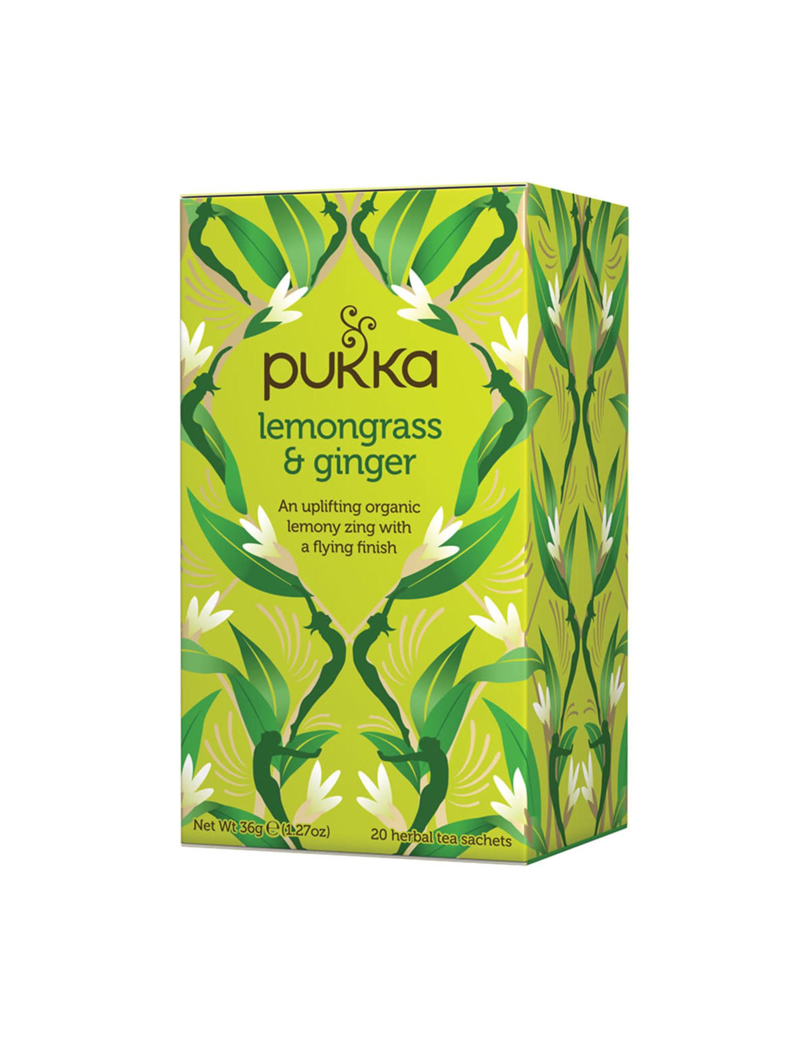 Pukka Lemongrass & Ginger x 20 Tea Bags