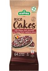 Kupiec Rice Cakes with Dark Chocolate & Raspberries - Gluten Free - 64g