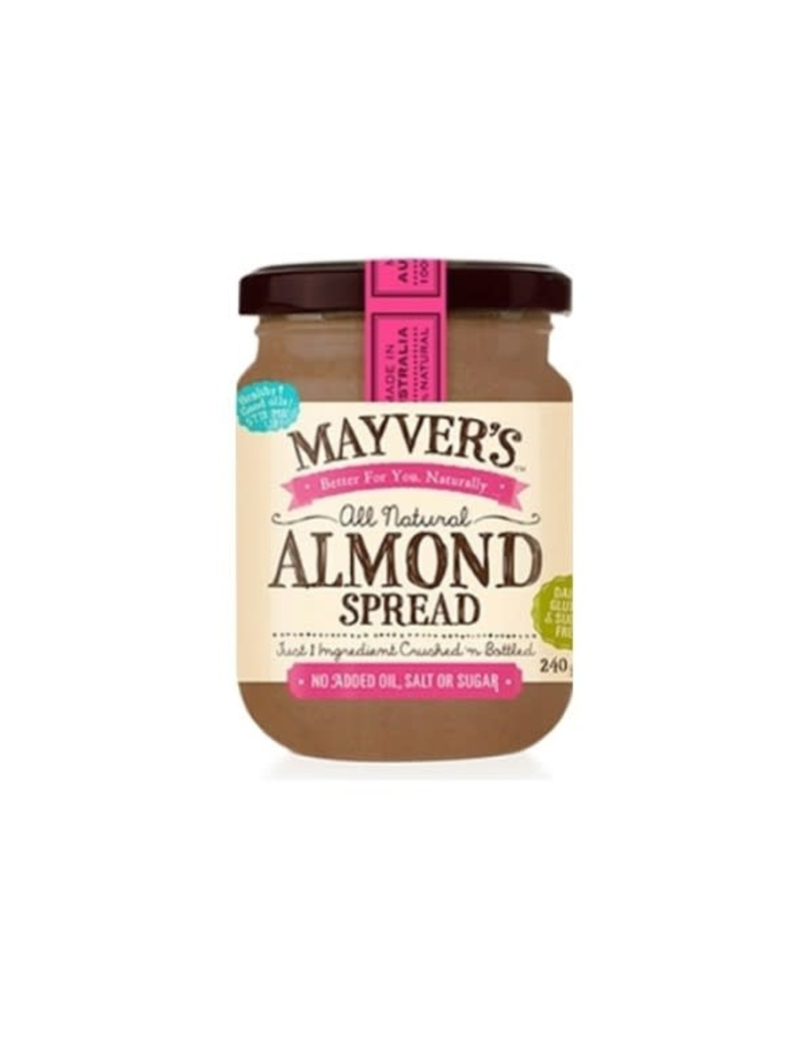 Mayvers Almond Spread