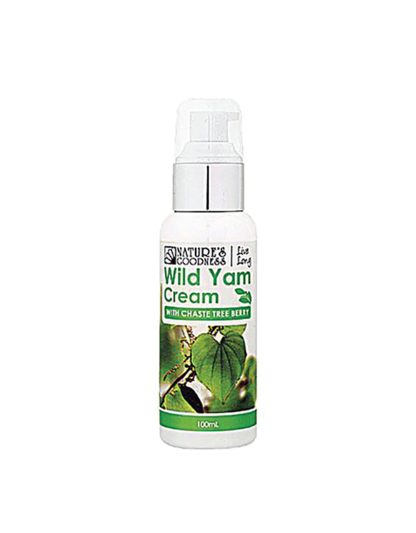 Nature's Goodness Wild Yam Cream (with Chaste Tree Berry) 100ml